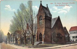 Massachusetts  New Bedford  St. James Episcopal Church