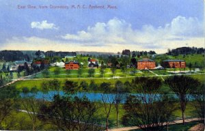 [ Scott Photo ] US Massachusetts Amherst - East View, From Dormitory