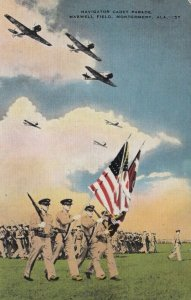 MONTGOMERY , Alabama, 1940s ; Maxwell Field , Navigator Cadet Parade