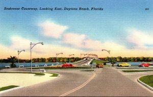 Florida Daytona Beach Seabreeze Causeway Looking East