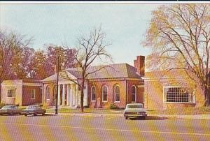 Mary Cheney Library, Main Street, Center Park, Manchester, Connecticut, 40-60s