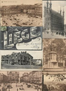 Belgium Brussels Liège Namur and more Postcard Lot of 42 with some RPPC 01.09