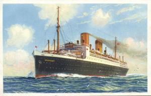 Norddeutscher Lloyd Bremen Steamer Stuttgart (1930s)