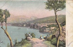 Panorama Of Sorrento (Naples), Campania, Italy, 1900-1910s
