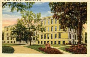MA - Newtonville. Technical High School