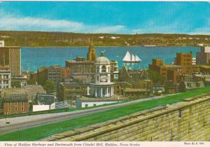Canada Halifax View Of Harbour and Dartmouth From Citadel Hill 1989