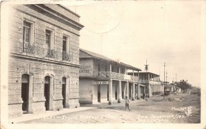 F55/ San Jeronimo Oax. Mexico Foreign RPPC Postcard c40s Hotels