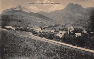 Bernex France Mont Cesar et Dent d'Orche Antique Postcard J75878