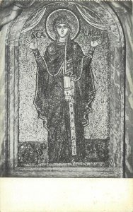 Italy Ravenna Palazzo Arcivescovile La Vergine musaico Postcard