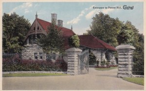 CLEVELAND, Ohio, 1900-1910's; Entrance To Forest Hill Cemetery