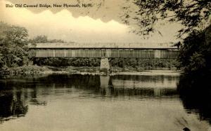 NH - Plymouth. Blair Old Covered Bridge