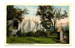 NY - Lake Placid. John Brown's Nearby Grave