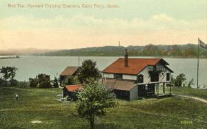 CT - Gales Ferry. Red Top, Harvard Training Quarters
