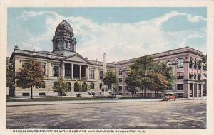 Mecklenburg County Court House & Law Building, Charlotte, North Carolina, 191...