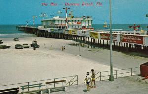 Fishing Pier, Boardwalk, DAYTONA BEACH, Florida, 40-60´