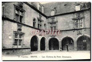 Old Postcard Brive The Cloisters Petit Seminaire