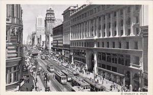 Trolleys On Market Street Looking East From Powell Street San Francisco Calif...