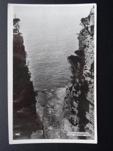 Australia Tasmania PORT ARTHUR Devil's Kitchen - Old RP Postcard by Valentine