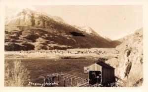 Skagway Alaska~End of Line~Railroad Train Shed~1930s Real Photo Postcard RPPC
