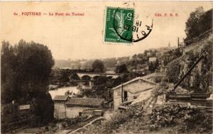 CPA POITIERS - Le Pont du Tunnel (255707)