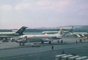 Iberia DC9 EC-BQV Plane at Zurich Airport Limited Edition 300 Postcard