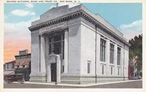 RED BANK , New Jersey , 1910s ; Second National Bank