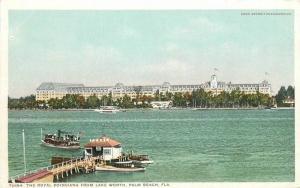 C-1910 Royal Poinciana Lake Worth Palm Beach Florida Detroit Publishing 7312