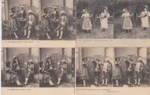 PERSONNES ENFANTS SPORT GAMES 51 Vintage STEREO Cartes Postales 1900-1940.