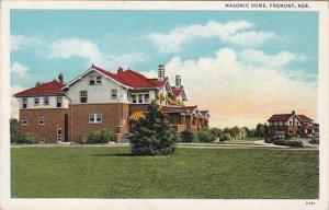 Nebraska Fremont Masonic Home Curteich