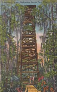 Observation Tower, Okefenokee Swamp Park, Waycross, Georgia, 1930-40s