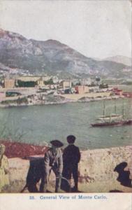 Monaco Monte Carlo General View 1913