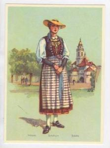 Girl of Solothurn, Switzerland 1940s