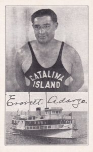 CATALINA ISLAND, California, 1920-30s; Everett Adargo Deep Sea Diver, Phoeni...