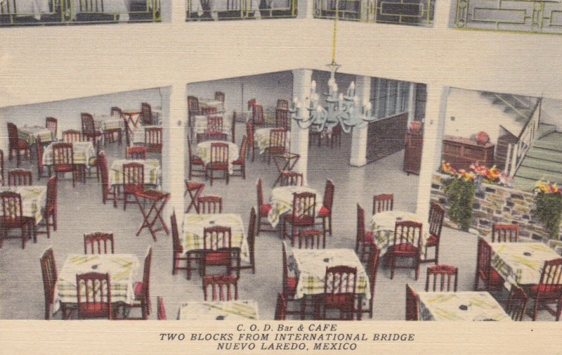 Mexico Nuevo Laredo C O D Bar & Cafe Interior sk3766