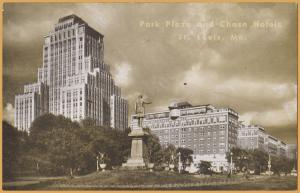 St. Louis, MO., Park Place and Chase Hotel, A Koplar Hotel -