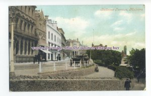 aj0542 - Worcestershire - Early Bellevue Terrace in Malvern, c1907 - Postcard