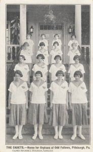 PITTSBURGH , Pennsylvania, 1900-10s ; IOOFs Orphans Home , The Cadets