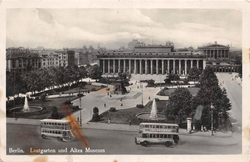 B43701 Berlin Lustgarten und altes Museum   germany