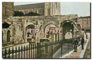 Old Postcard Nimes The Bridge of Augustus