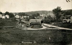 VT - Westford. Covered Bridge and Village