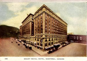 Montreal, Canada - The Mount Royal Hotel - in 1947