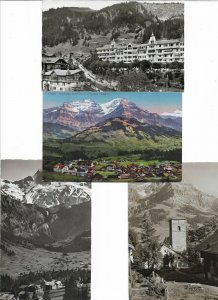 Switzerland Adelboden Postcard Lot of 10 01.11