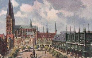 LUEBECK , Germany, 1900-10s ; Markt ;  TUCK 7080