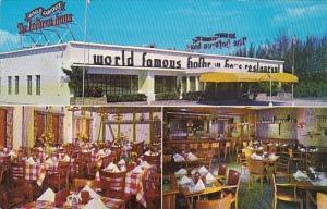 Florida West Palm Beach Hudgins The Food Dinners Restaurant 1958