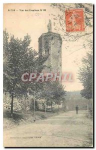 Old Postcard Autun Tours Ursuline