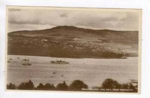 Helensburgh, Scotland, 00-10s Yacht in harbor, Rhu Bay