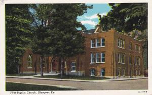 First Baptist Church , GLASCOW , Kentucky , 30-40s