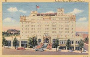 MONTEREY, California, 1930-40s; Hotel San Carlos