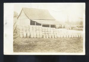 RPPC GLENNONVILLE MISSOURI HENRY'S MILL MARSHALL MO. REAL PHOTO POSTCARD 1912