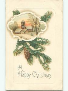Divided-Back CHRISTMAS SCENE Great Postcard AA0027